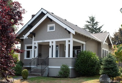 Tacoma Single Family Home For Sale: 3108 N 20th St