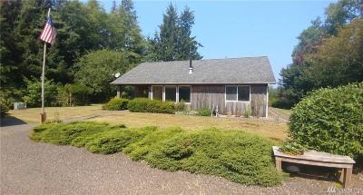 Grays Harbor County Single Family Home For Sale: 83 Newskah Rd