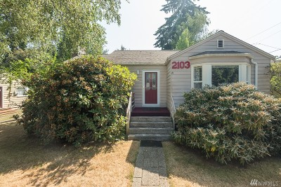 Seattle Single Family Home For Sale: 2103 N 140th St