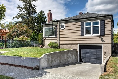 Seattle Single Family Home For Sale: 3744 SW Monroe St