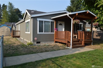 Tumwater Single Family Home For Sale: 424 I St SW