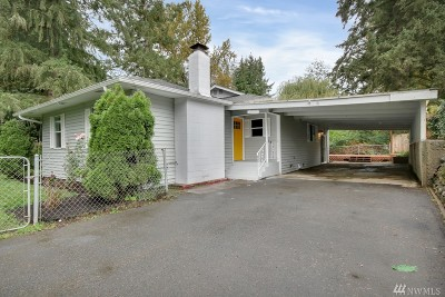 Kent WA Single Family Home For Sale: $419,000