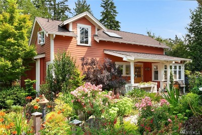 Shoreline Single Family Home For Sale: 315 N 160 Place