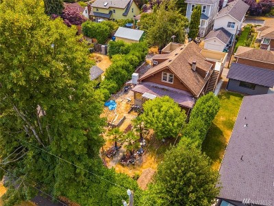 Seattle Single Family Home For Sale: 617 NW 84th St