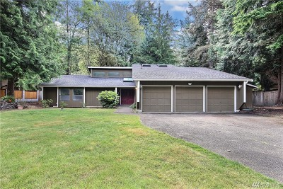 Puyallup Single Family Home For Sale: 2404 Manorwood Dr SE