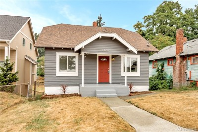 Tacoma Single Family Home For Sale: 1409 S 46th St
