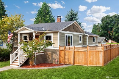 Seattle, Bellevue, Kenmore, Kirkland, Bothell Single Family Home For Sale: 9757 Palatine Ave N
