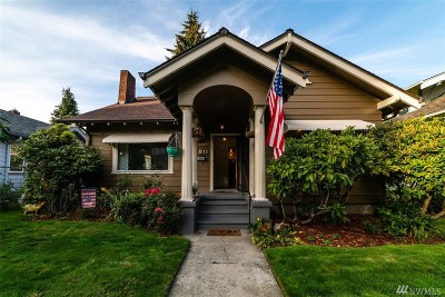 Tacoma Single Family Home For Sale: 511 N L St