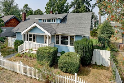 Single Family Home For Sale: 5626 S M St