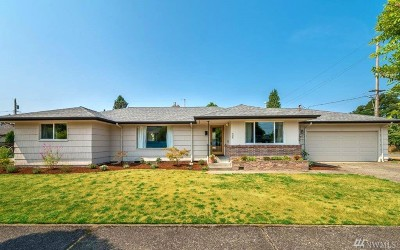 Olympia Single Family Home For Sale: 405 Milroy St SW