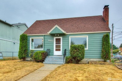 Single Family Home For Sale: 5502 S Cushman Ave