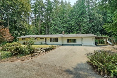 Mount Vernon Single Family Home Sold: 3634 N Woodland Dr
