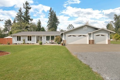 Buckley Single Family Home For Sale: 23809 96th St E