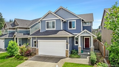 Puyallup Single Family Home For Sale: 8118 164th Street East