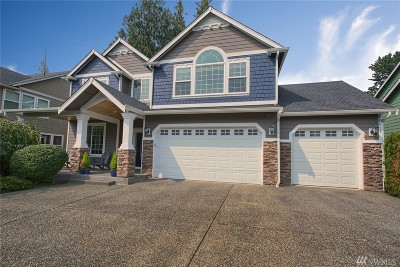 Bonney Lake Single Family Home For Sale: 18017 113th St E