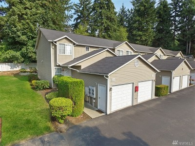 Puyallup WA Condo/Townhouse For Sale: $193,500