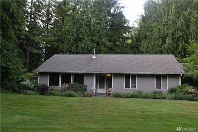 Tenino Single Family Home For Sale: 1222 Wright Rd SE