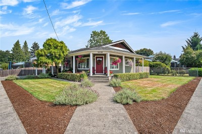 Single Family Home For Sale: 1132 G St