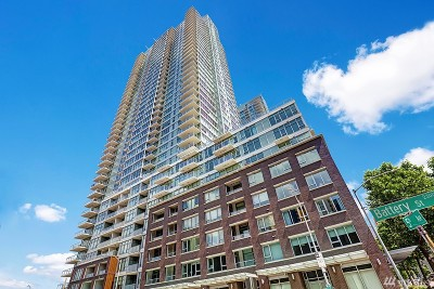 Seattle Condo/Townhouse For Sale: 588 Bell St #2703S