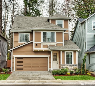 Bothell Condo/Townhouse For Sale: 919 221st Place SE #3-N