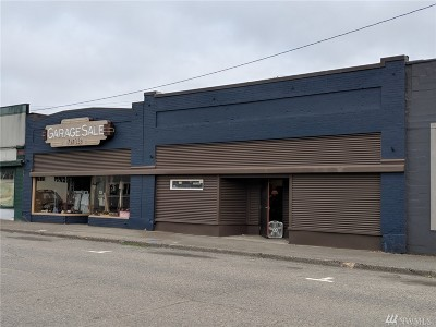 Shelton Commercial For Sale: 120 W Cota St