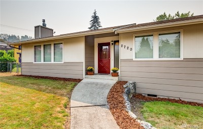 Bellingham WA Single Family Home For Sale: $349,900