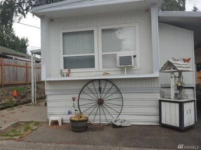 Auburn WA Mobile Home For Sale: $14,900