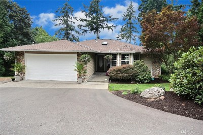 Renton Single Family Home For Sale: 14925 196th Ave SE