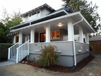 Tacoma Single Family Home For Sale: 1615 S 23rd St