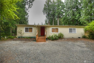 Olympia Single Family Home For Sale: 1840 Island Dr NW