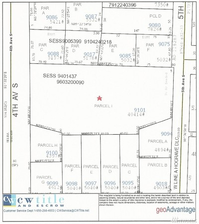 Seattle Residential Lots & Land For Sale: 8831 5th Ave S