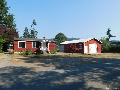 Tenino Single Family Home For Sale: 128 McClellelen St SE