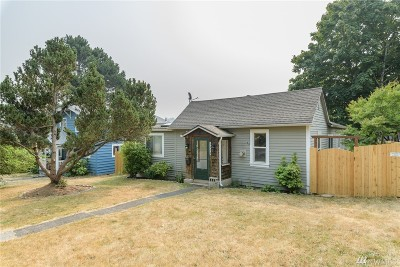 Bellingham Single Family Home For Sale: 1010 Newell St