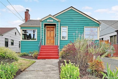 Seattle Single Family Home For Sale: 4877 24th Ave S