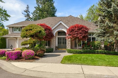 Single Family Home For Sale: 915 200th Ave SE