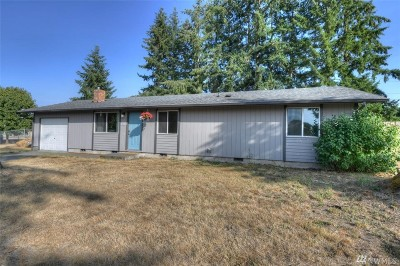 Rochester WA Single Family Home For Sale: $220,000