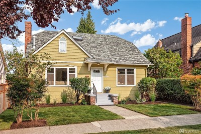 Seattle Single Family Home For Sale: 7508 18th Ave NE