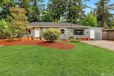 Bellevue Single Family Home For Sale: 3738 136th Place SE