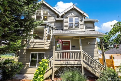 Seattle, Bellevue, Kenmore, Kirkland, Bothell Single Family Home For Sale: 3643 22nd Ave W