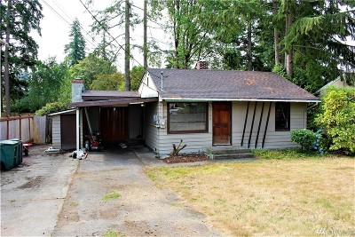 Mountlake Terrace Single Family Home For Sale: 5102 242nd St SW