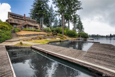 Lake Tapps Single Family Home For Sale: 1515 Tacoma Point Dr E