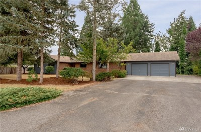 Enumclaw Single Family Home For Sale: 23735 SE 471st St