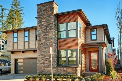 Sammamish Single Family Home For Sale: 24040 NE 14th St #Lot84