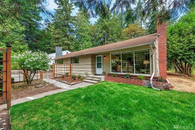 Lake Forest Park Single Family Home For Sale: 3008 NE 178th St
