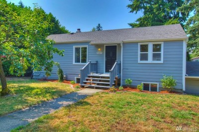 Burien Single Family Home For Sale: 11817 3rd Ave S