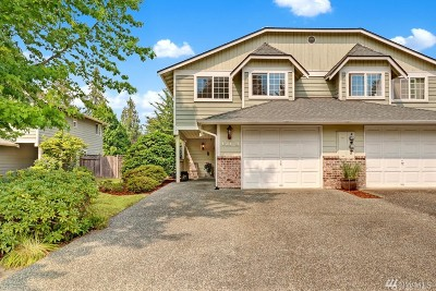 Mountlake Terrace Condo/Townhouse For Sale: 4501 218th St SW #B