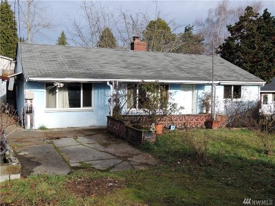 Seattle Single Family Home For Sale: 7640 S 114th St