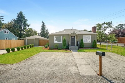 Tacoma Single Family Home For Sale: 326 Lafayette St S