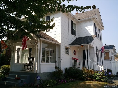 Single Family Home For Sale: 609 M St