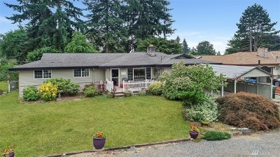 Kent Single Family Home For Sale: 14535 SE 261st St